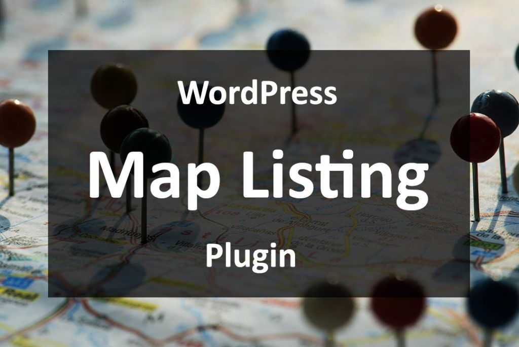 WordPress map listing plugin