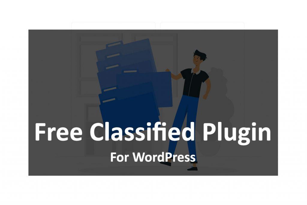 Free Classified Plugin For WordPress