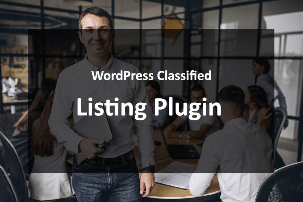 WordPress Classified Listing Plugin
